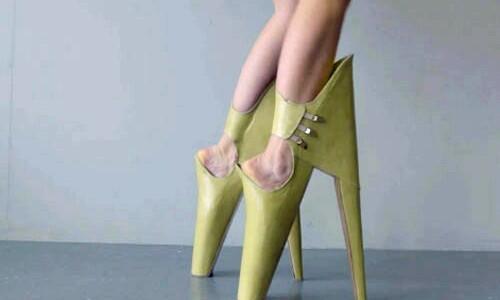 Worlds ugliest heels, ladies