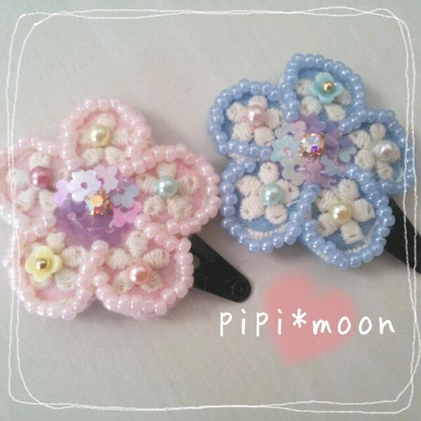 ビーズのお花が可愛い♡ビーズ刺繍やビーズ編みでお花を作ろう♪