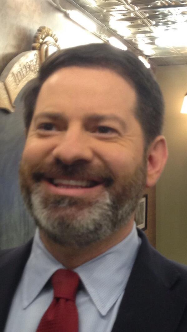 Handsome MT @MarkHalperin: I now see @wolfblitzer big competitive edge: no time wasted shaving. http://twitter.com/MarkHalperin/status/375552396924944384/photo/1