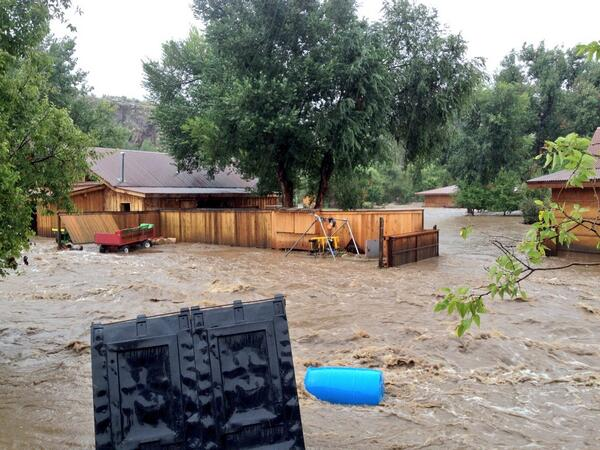 Bad news for music fans: Planet Bluegrass appears to have been utterly wiped out. #boulderflood http://twitter.com/TrevorHughes/status/378289530605809664/photo/1