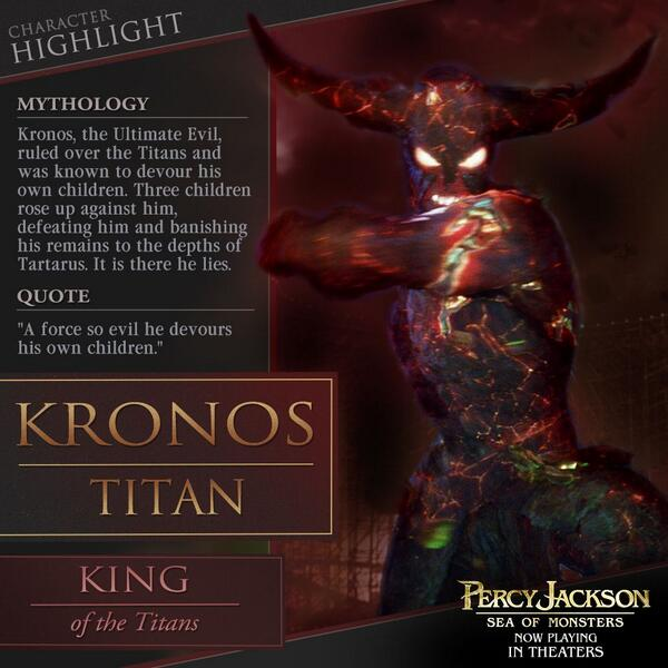 Kronos The Titan Lord From Percy Jackson | www.imgkid.com ...