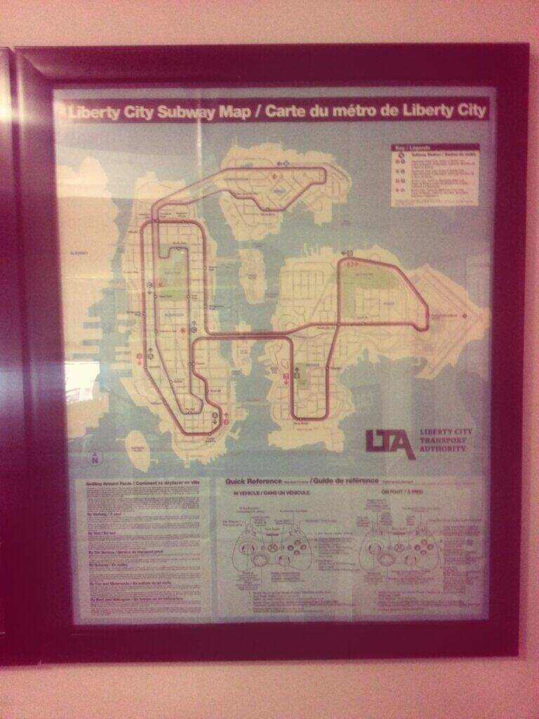 Gta4 Subway Map.Typical Gamer On Twitter The Fifth And Final Poster This One