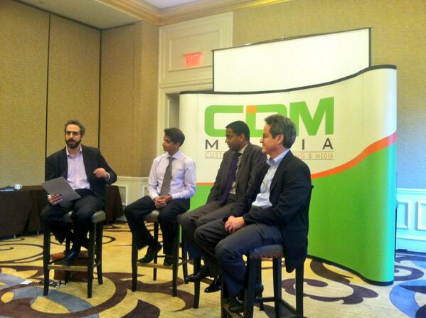 Panel Discussion with Tom Wolf, SVP at MetLife, Praveen Reddy, CIO at Aon Affinity, and Guru Vasudeva, CTO at Nationwide