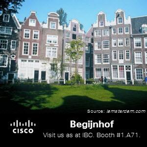 While you're in Amsterdam for #IBCshow , take a break and take a relaxing stroll in the Begijnhof courtyard. http://twitter.com/CiscoSPVideo/status/375694841449304064/photo/1