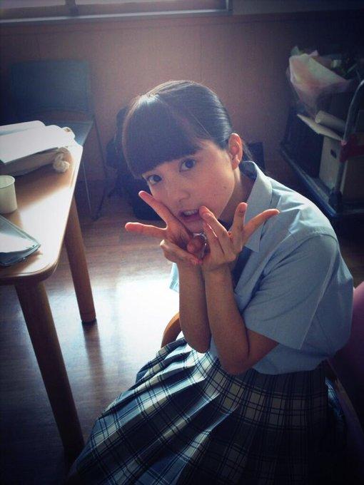 来週もお楽しみに( ´ ▽ ` )ノ #umika #9nine #ぴんとこな http://t.co/0JwEf2Fg01