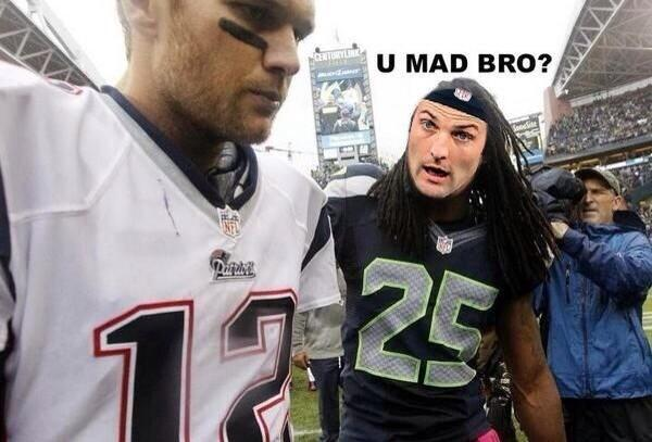 Twitter / zboswell: You Mad Bro? Welker feels a ...