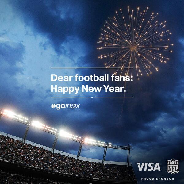 Visa On Twitter Dear Football Fans Happy New Year Goinsix Pic