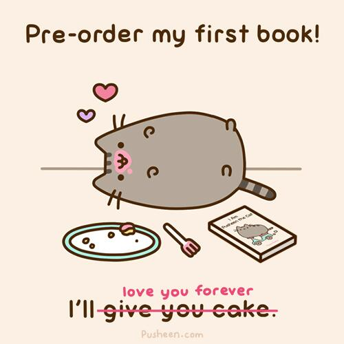If You Havenu0027t Already, Please Consider Pre Ordering!  Http://www.amazon.com/Am Pusheen Cat Claire Belton/dp/1476747016  U2026pic.twitter.com/l3UT4uORoo