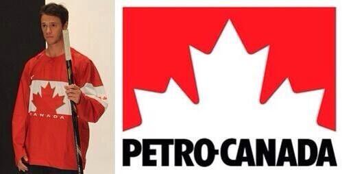 Shoutout to Nike for slapping the Petro Canada logo on our Olympic jersey. http://twitter.com/MadelnCanada/status/375807617102532608/photo/1