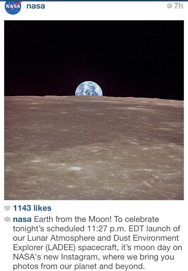 Twitter / allygreer: It's #MoonDay on @NASA's new ...