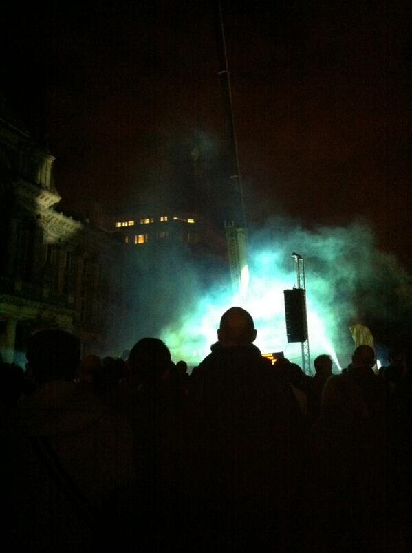 As the World Tipped starting now in Victoria Sq. #bham4sq http://twitter.com/FionaFraser1/status/376081411184553984/photo/1