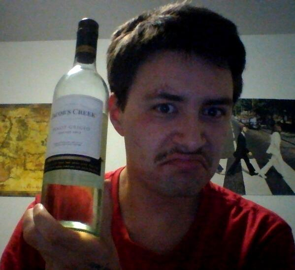 Having a consolation wine :( @abcnews #electionparty #ausvotes http://twitter.com/turdface42/status/376262293836664832/photo/1