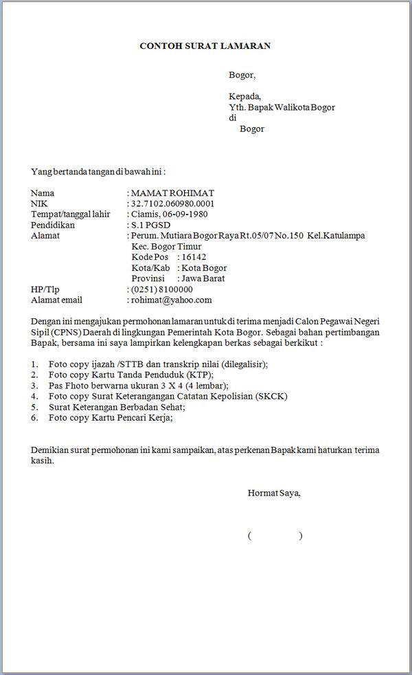 Kertas Folio Bergaris Contoh Surat Lamaran Kerja Kumpulan Contoh Gambar