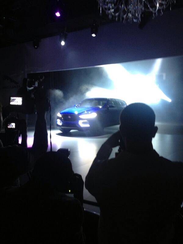 The new @jaguar #cx17 in all it's wonderful glory http://t.co/HnYGIfxjkA
