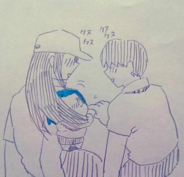 オネッ…オニーサンかみのけとてもすてき。 おれかみのけ綺麗なひと、すきよ。ぐーるぐる。