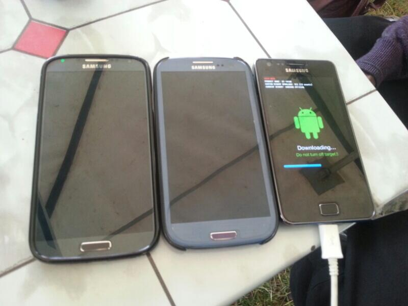 Twitter / echenze: The Galaxy S family: S2, S3 ...