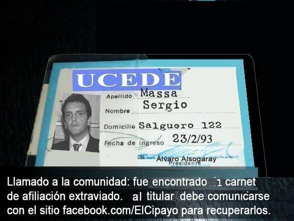 Resultado de imagen de Massa afiliado de la UCD