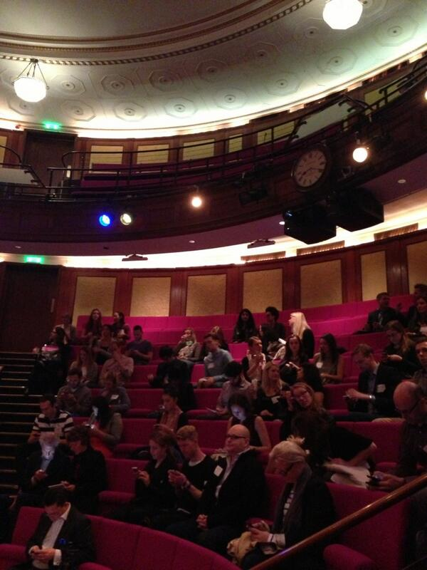 Great lecture hall at the Royal Institute for this morning's talk #SMWwhatsnext #SMW13 http://twitter.com/ShelleyPortet/status/382042108346920960/photo/1
