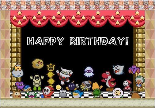 c'est le birthday du geek ... BU1VWwRCQAAO4iQ