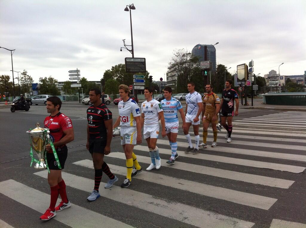 Hcup - France : Les capitaines français réunis pour le lancement offciel