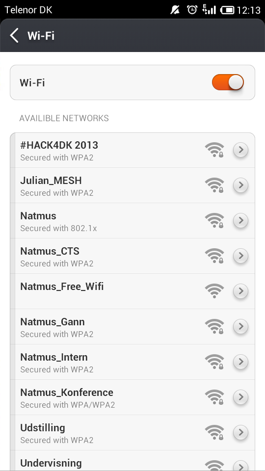 Our tech crew got the killer wifi for #HACK4DK up and running for you guys. All your bandwidth needs will be met :-) http://twitter.com/jwangdk/status/382086208404213761/photo/1