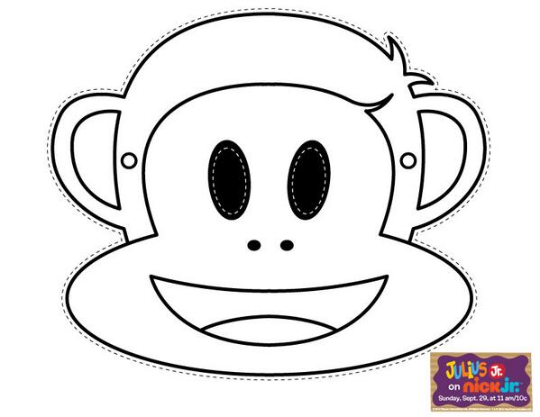 Paul Frank Monkey Coloring Page Coloring Pages