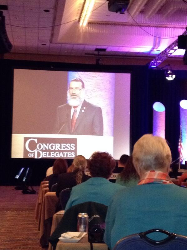 RT @sbrfamilydocs: AAFP President-Elect Reid Blackwelder addressing #AAFPCOD We're in such good hands. http://twitter.com/SBRfamilydocs/status/382163697306566656/photo/1
