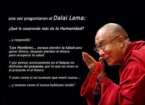 "Mr. M on Twitter: ""Una vez la preguntaron al Dalai Lama ..."