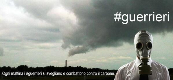 Ogni mattina i #guerrieri si svegliano e combattono contro il carbone. http://twitter.com/nandupopusss/status/382212542119956481/photo/1