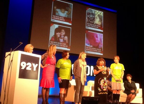 Inspiring moms share their wishes for their children's futures. #2013NOW #MDG456Live http://t.co/a45Wqeh4FY