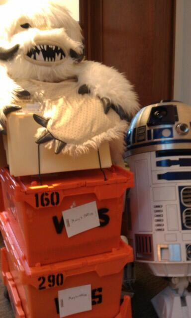Packing up to move offices tomorrow. I love it that my move looks like this. http://twitter.com/MaryLFL/status/382321752577044480/photo/1
