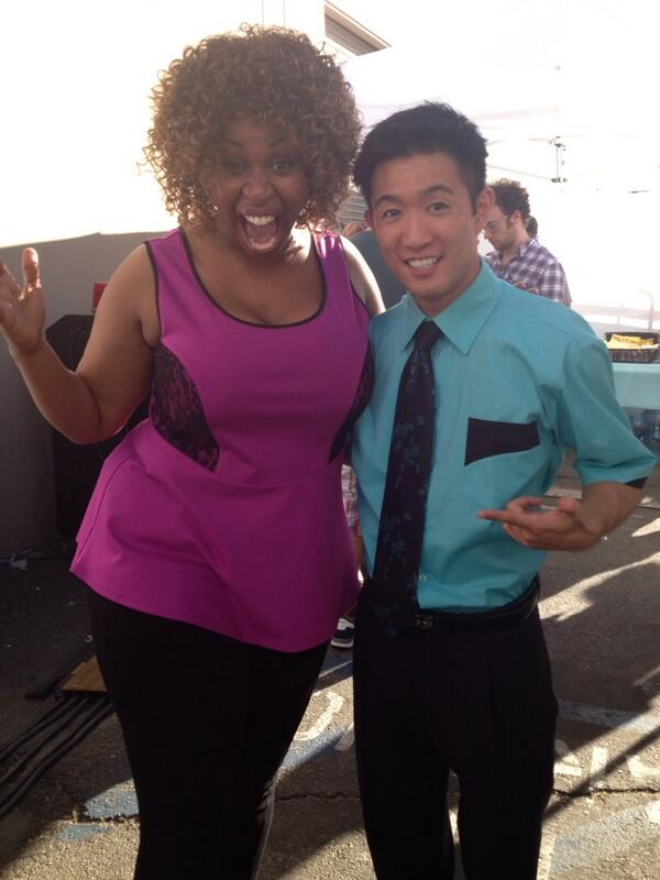 Glozell Green On Twitter Kicking With Steveterada On The Set Of