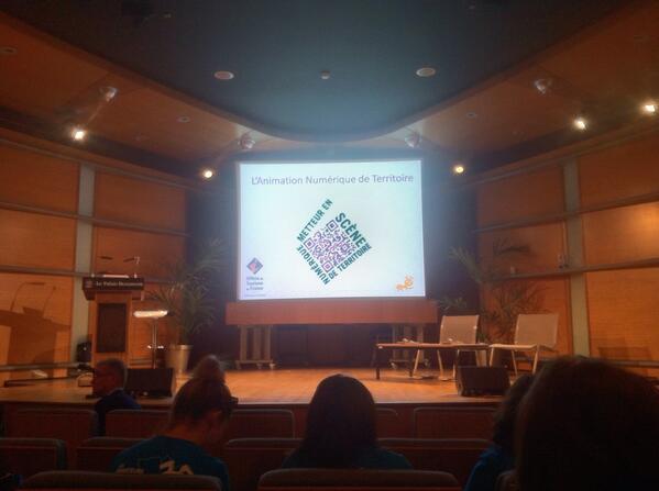 C'est parti pour la journée #ant3 : on va parler animation numérique du territoire ! #et9 http://twitter.com/VisitezToulouse/status/382424594163855360/photo/1