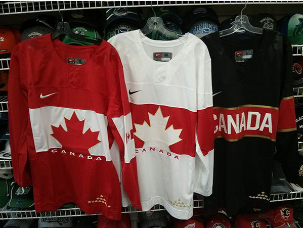 I actually don't mind the Team Canada Olympic Jersey's http://twitter.com/Hockeylife30/status/382588661813874688/photo/1
