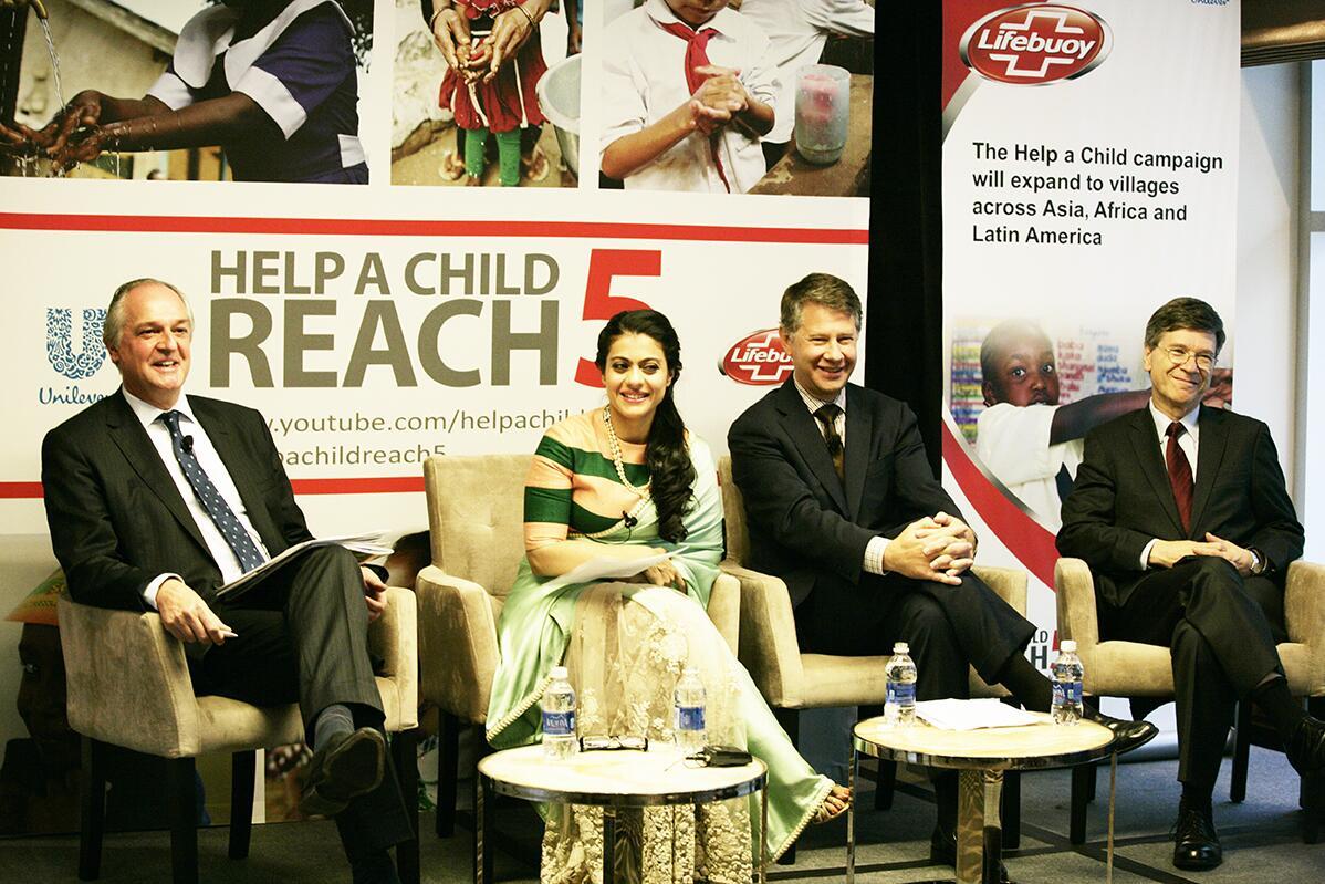 Kajol at the Social Good Summit, UN Week