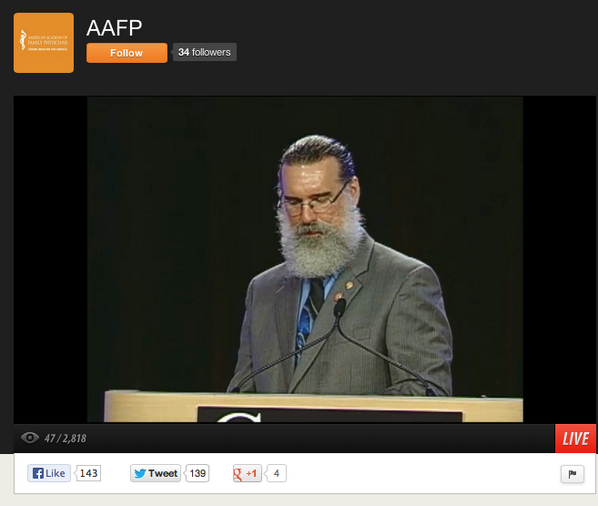 #AAFPCOD Here's what's on my screen @blackweldermd HA! #FearTheBeard #FMRevolution ustream.tv/channel/aafp http://twitter.com/drmikesevilla/status/382545995025743874/photo/1