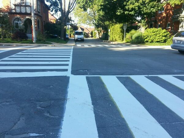 Zebra crossing, Herkimer and Kent