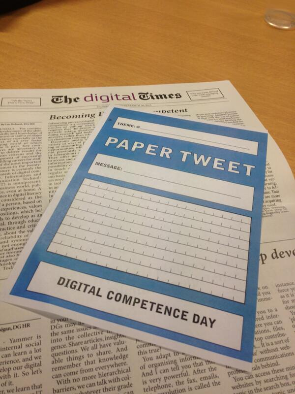 Looking fwd to exploring the European Commission's Digital Competence Day at #smwSMILE bit.ly/13VgmNk http://twitter.com/silviacambie/status/378553673623674881/photo/1