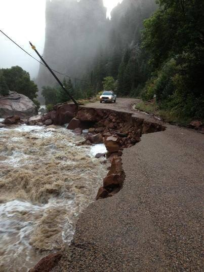 Thumbnail for Social media covers the flash flooding in Colorado