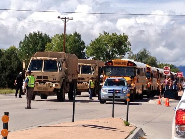 National Guard evacuating residents from #Lyons. Photo from @Johnjdubs #cowx #coflood http://twitter.com/Johnjdubs/status/378601101638901760/photo/1