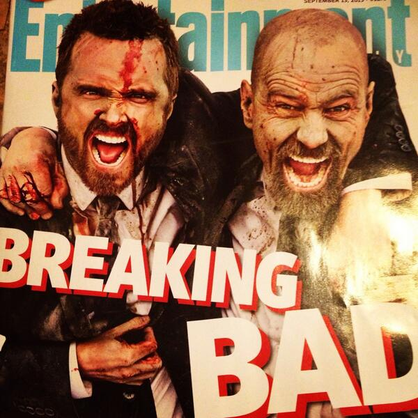 """Breaking Bad on Twitter: """"RT if you love this #BreakingBad @EW cover! More in today's press roundup. http://t.co/kWN3sy9b8H http://t.co/4nmsj6oX3o"""""""