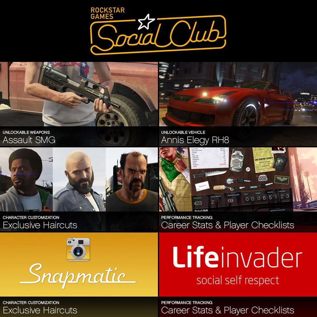 Rockstar Games On Twitter Exclusive Gtav Social Club Unlockables