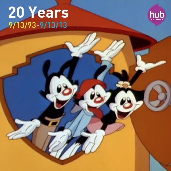 """Discovery Family On Twitter: """"RT To Wish The #Animaniacs A"""