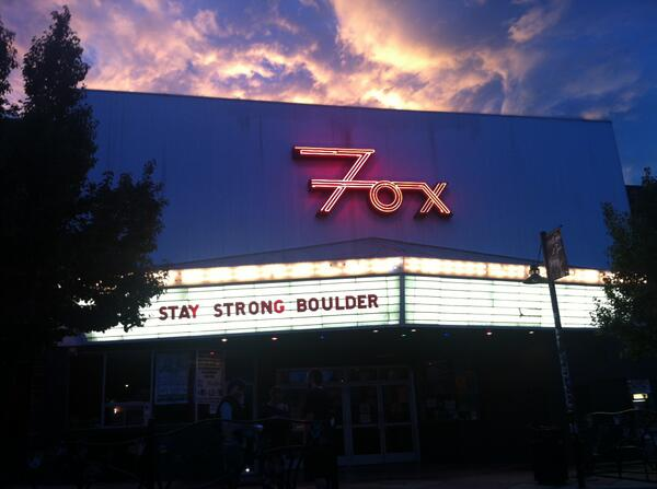 Amazing shot, sentiment #BoulderFlood #StayStrong RT @tonimomberger: 7:15 on the hill http://twitter.com/tonimomberger/status/378688907807703040/photo/1