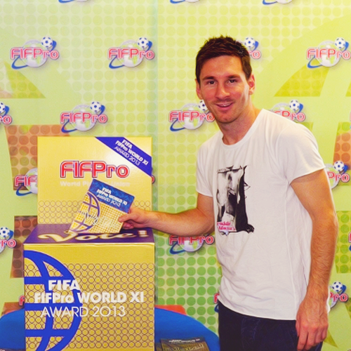 #MessiPic - Messi voted for FIFA FIFPro World XI: <br>http://pic.twitter.com/pMK8KmtvVD