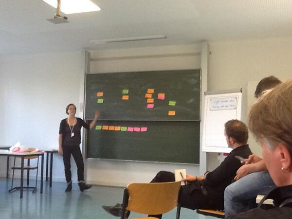 Iterative Projektplanung mit der Formel Priorität = Aufwand / Wichtigkeit (quick wins zuerst) #pmcamp13ber http://twitter.com/ITaCSHdV/status/378892451840544768/photo/1