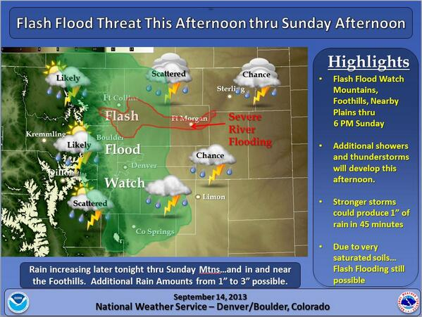 Nws Boulder On Twitter Flash Flood Watch Expanded To Include