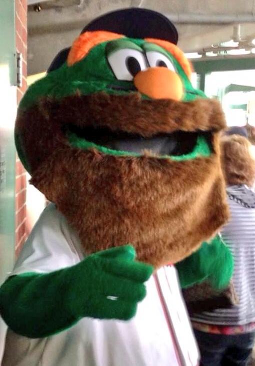 Bill Dennen On Twitter Even Wally The Green Monster Has A Beard