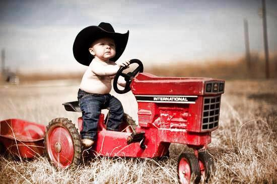 Twitter / MyRenegadeRadio: So cute... little #Cowboy! ...