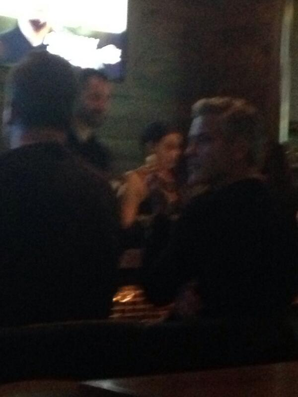 George Clooney in Vancouver - sushi restaurant BUL0nD0CUAAFoFC